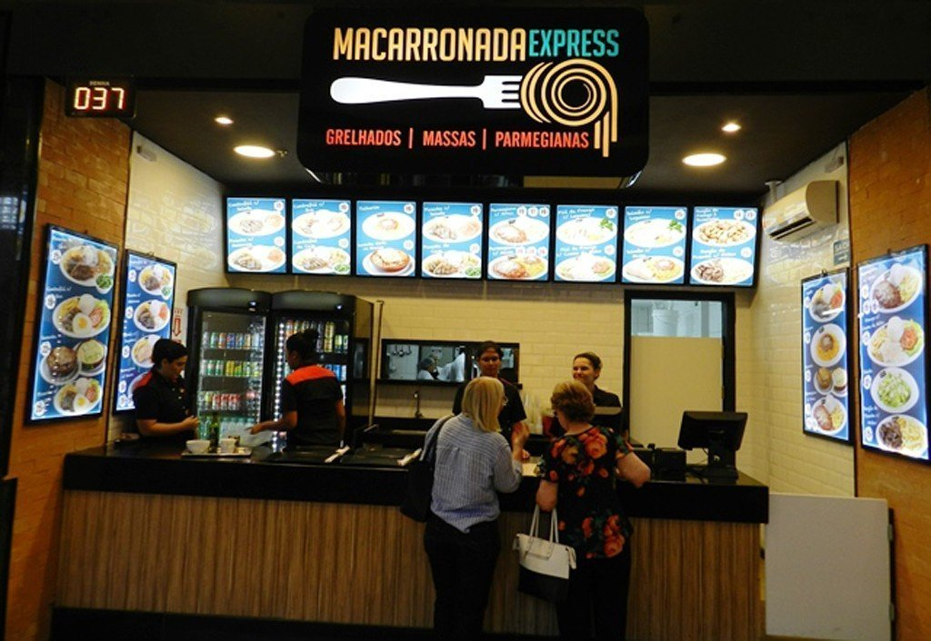 Macarronada Express no Shopping Piracicaba